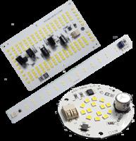 Светодиодные модули прямого включения 220В (бездрайверные)