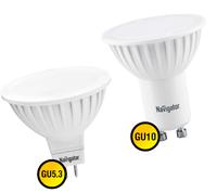 Светодиодные лампы GU 5,3 и GU 10 цоколь