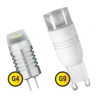 Светодиодные лампы: G4, G9 цоколь